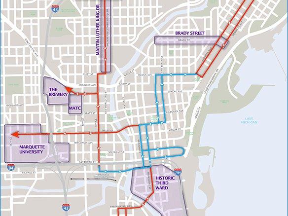 Map Bars Milwaukee
