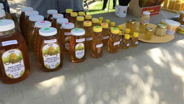 Room Scents Local Honey for Allergy Relief Farmers Market