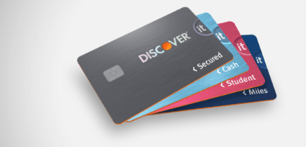 Discover Activation Card