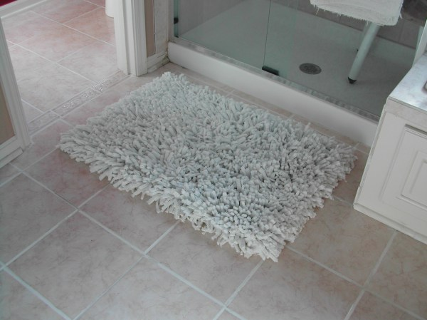 Projects Bathroom Rug Button Wall Decorations And