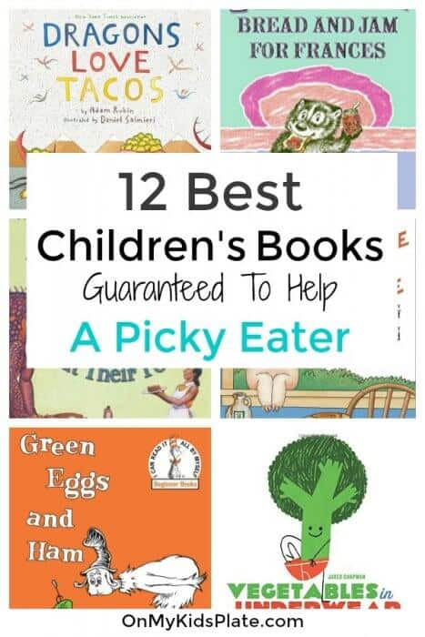 Book covers for children\'s books with text title overlay