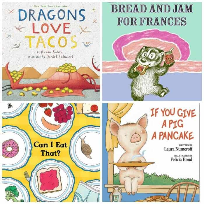 Book covers for four children\'s books
