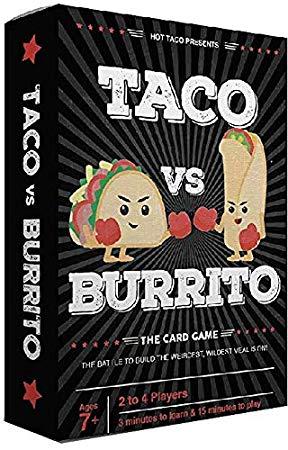 Taco vs burrito the card game