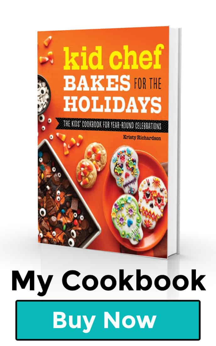 Kid Chef Bakes For The Holidays Cookbook