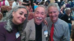 Maravilla, Ozzie, and John Cawley at an MSIA conference.