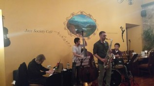 Jazz Society of Ecuador provides free jazz classes to young Ecuadorians and play for the community.
