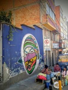 Street art in La Paz