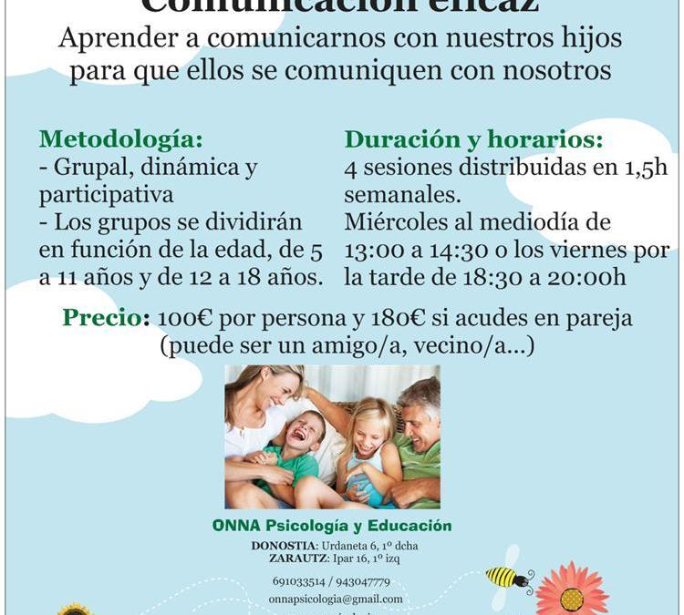 Aprender a comunicarnos con nuestros hijos para que ellos se comuniquen con nosotros.