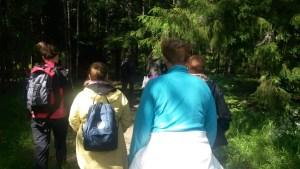 Asiakkaita metsässä3