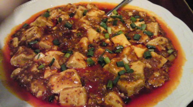 池袋「中国家庭料理 楊2号店」唐辛子と花椒で痺れる坦々麺と麻婆豆腐