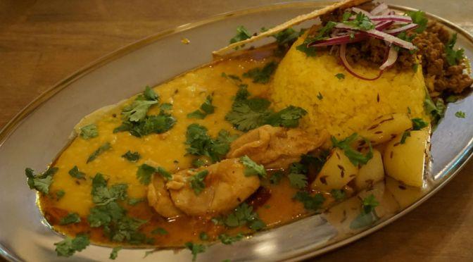 豊島園「食堂八」久しぶりに出合った絶品のインドカレーに感激! ホント美味しいからみんなに食べてもらいたい。