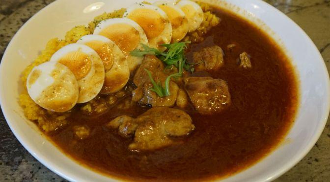 川越「ぽか羅」界隈ナンバー1の極上の日本スタイルのインド風カレー、絶品!