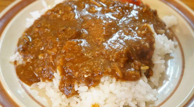 錦糸町「Curry Shop ITOH」製鉄工場の町に瀟洒に佇む、美味しいカレーと洋食の店。