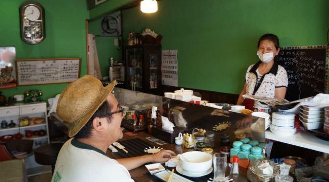 小平「味」奇妙な店名、楽しい女将さん、おいしい餃子、実にアットホームで心和む店。
