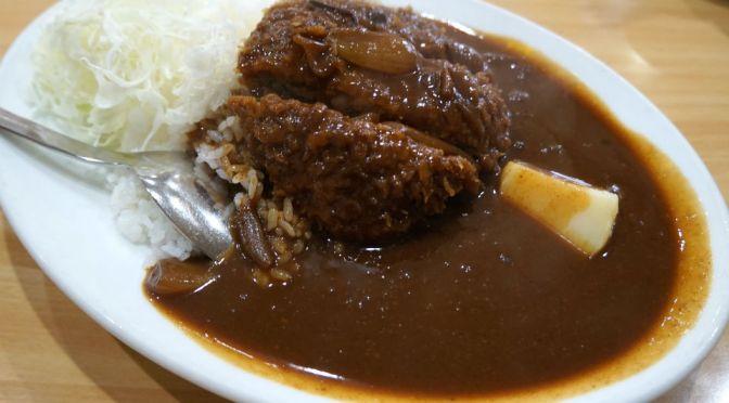江戸川橋「キッチンヨッチ」キッチン南海系のカレーだけど、ちょい甘口、万人受けする美味しいカレーライス。