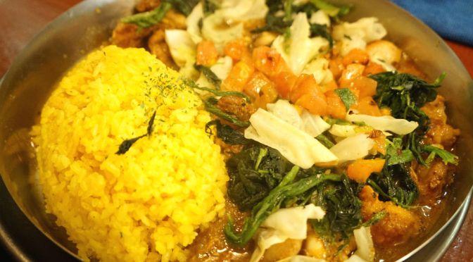 早稲田「ダルシムカリー」久しぶりにクセになる味わいのインドカレーに出合った。コスパも申し分なし、特に野菜カレーはピカイチ。今は亡き「夢民」の味わいにどこか似ている。