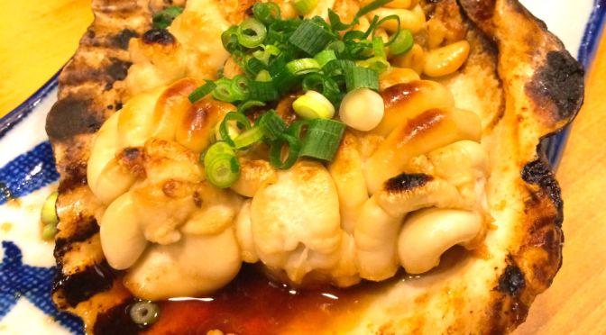 大久保「瀧元」なにをいただいても納得の居酒屋。焼き、刺身、タラ豆腐、天ぷらどれも優れもの、メチャ旨。