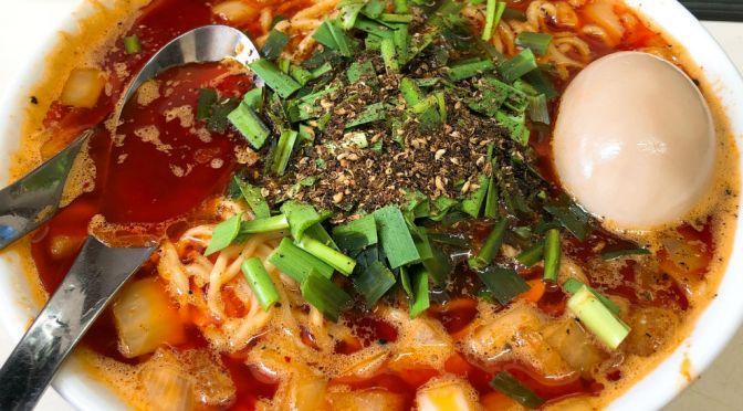 荻窪「ビンギリ」ジャンクな風情だけどメチャ旨の勝浦タンタン麺。ひょっとしたら本場の勝浦を危ぶむ美味しさかも。