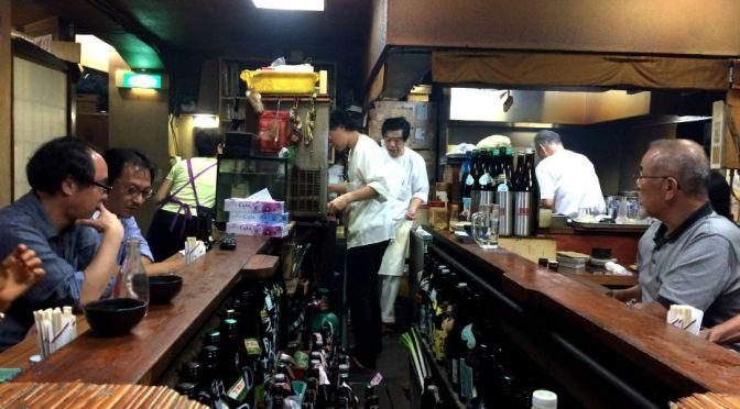 池袋「うな達」居心地のいい味わいの居酒屋。ウナギ串メチャ旨。金曜日のランチ、カレーライスもバツグン。