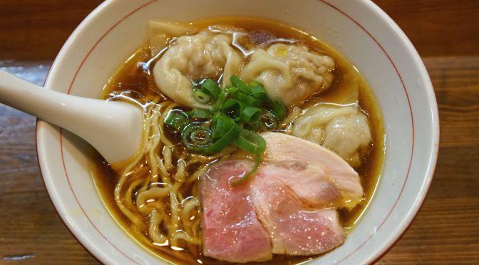 川口「かねかつ」手動製麺機でこしらえる麺と清らかで奥深いスープ。相変わらず旨い!