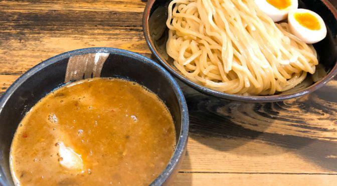 赤羽「赤羽京介」濃厚ながらサッパリとしたつけ麺、つけ汁が何気なく旨い。