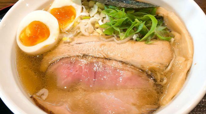 東川口「Japanese Noodles 88」美味しい鯛だしラーメン。