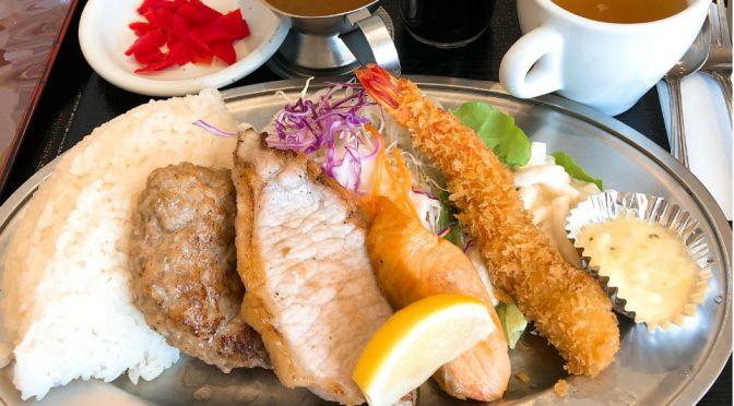 新宿「はやしや」雑居ビルの怪しさとは裏腹な、綺麗で落ち着いた老舗の洋食屋。