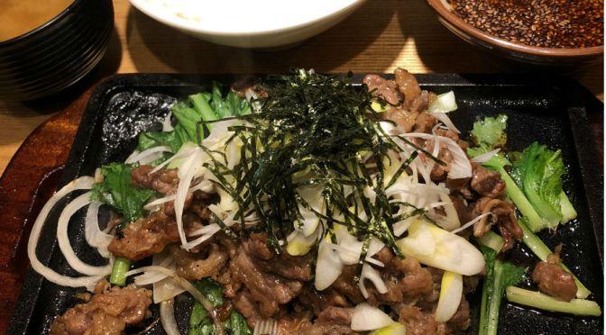 上野「肉めしかとう」味わいもコスパも最高。肉めし、ハンバーグ実に美味。