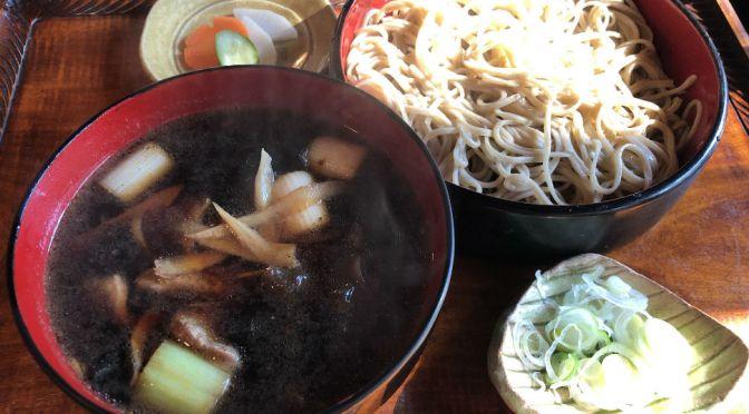 光が丘「桔梗家」風情のいい古民家で味わう、鴨せいろ、天ぷらそば。