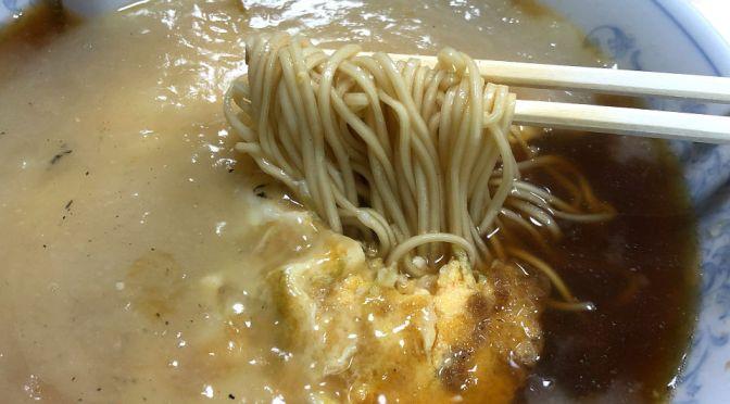 浅草橋「大勝軒」メチャ美味しい肉玉そば。焼売も実にチャーミング。