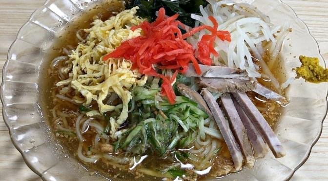浅草橋「大勝軒」美味しい冷やし中華と餃子。