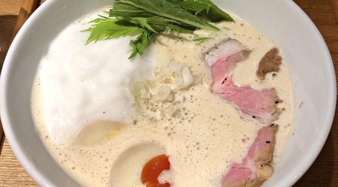 高田馬場「ふく流らーめん轍」クリーミーな見た目とは裏腹。エッジの効いた美味しいラーメン。