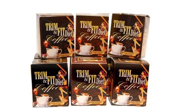 TRIM AND FIT DIET COFFEE;THE HEALTHY CHOICE