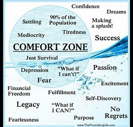 HOW TO STEP OUT OF YOUR COMFORT ZONE AND BE THE BEST
