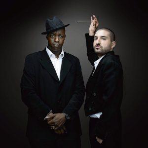 Oxmo Puccino et Ibrahim Maalouf. Crédit : Denis Rouvre