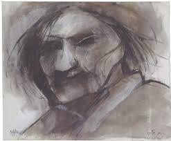 'An Old Woman' by Ruth Schloss