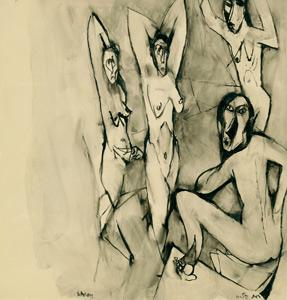 'Apropos Les Demoiselles d'Avignon' by Ruth Schloss