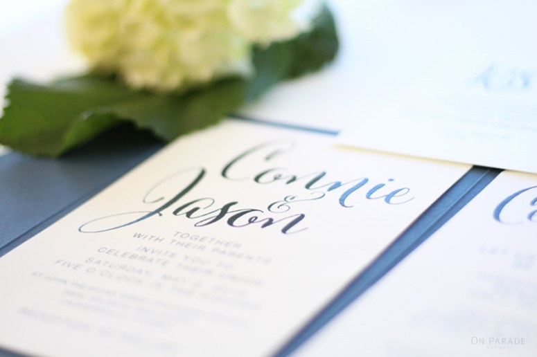 The Irene Suite Invitation Detail