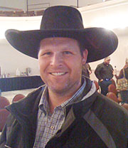 Lance Knudsen of Ruby Valley, NV