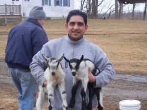 Chuda and bucklings, happy at home!