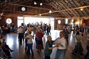 Here we have the dance hall AND the dancers.  Photo courtesy of the Anhalt Dance Hall.