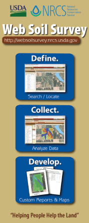 Click Here to Download a brochure with instructions for using the Web Soil Survey