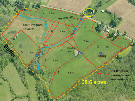 Map for grazing chart 2