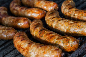 """OK, so you really wanted a sausage recipe? Click to go to """"TheSpicySausage.com"""" for a great assortment!"""