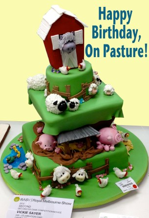 OnPastureBirthdayCake