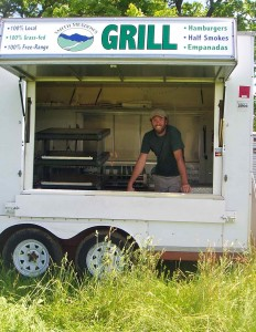 Did we mention we sell grass-fed meats?  No extra charge for the hayseeds!