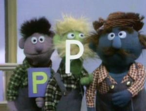"Today's article is brought to you by the letter ""P"""