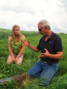 Ashley Pierce and Ray Archuleta talk at Grasstravaganza