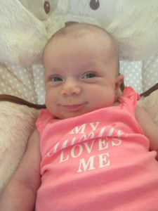 Granddaughter Hadley - a great reason to work on healthy soil!