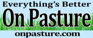EverythingsBetterOnPastureBumperSticker